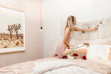 Aileen Xu styles desert bedroom look