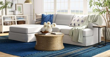 coastal furniture in a living room