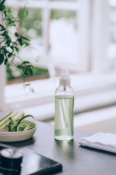DIY Lemongrass Infused Vinegar All-Purpose Spray Cleaner