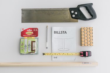 Here's what you'll need to customize your IKEA BILLSTA Table.