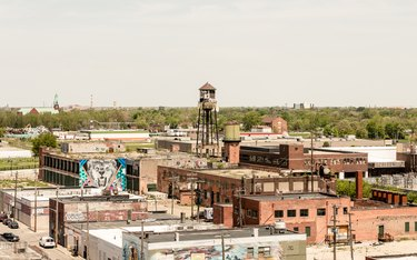 rooftop view of the Eastern Market