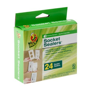 Duck brand socket sealers.
