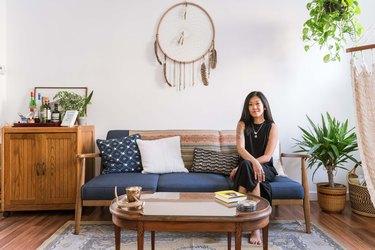 Susannah Ayscue at home