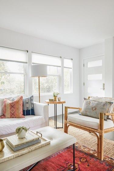 Rattan living room furniture