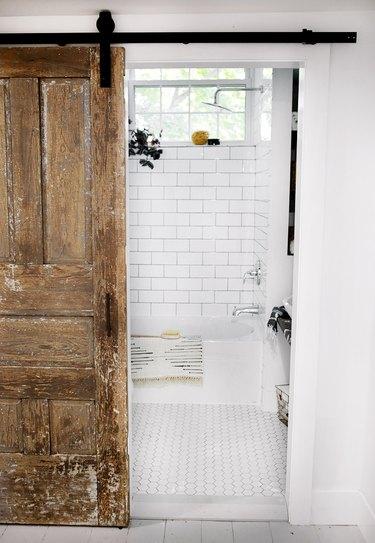rustic bathroom remodel