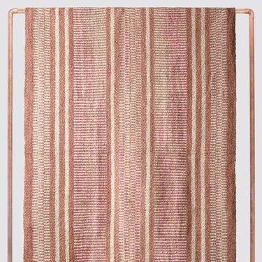 terracotta colored rug