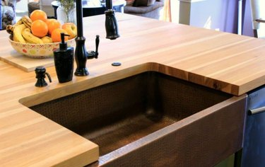 How to Build a Base for an Apron Front Sink