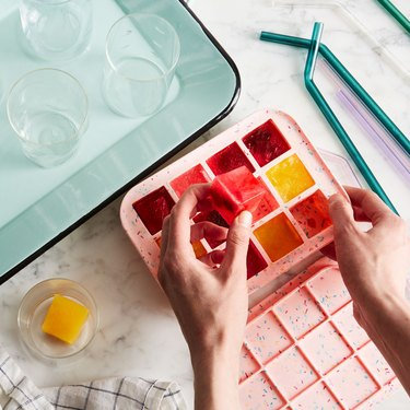 Fun ice trays