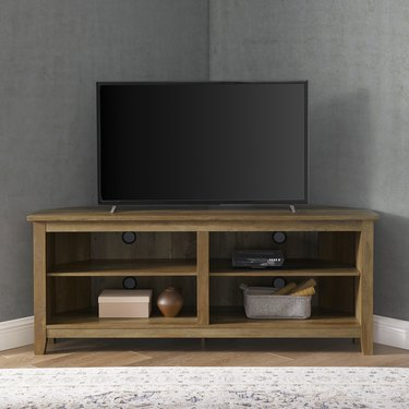 Manor Park Transitional Corner TV Stand, $159