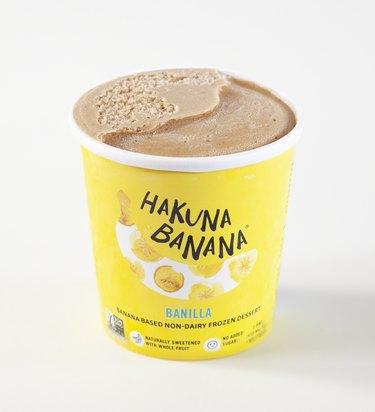 Hakuna Banana Frozen Dessert, about $3.89