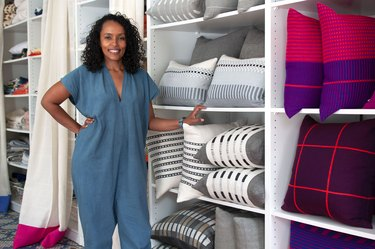 Hana Getachew Bolé Road Textiles in Brooklyn, New York