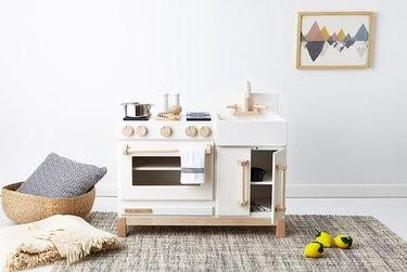 modern play kitchen