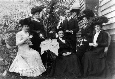 Victorian tea Trolley