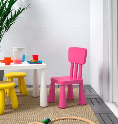 ikea kids table and chairs set