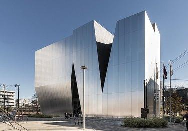 geometric metal building