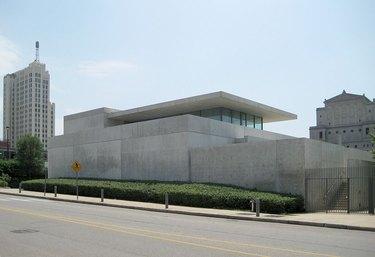 concrete museum building