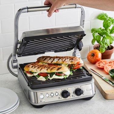 Breville Panini Press kitchen appliance for summer