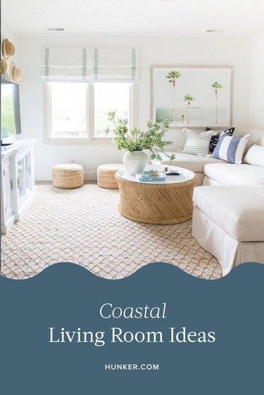 Coastal Living Room Ideas and Inspiration
