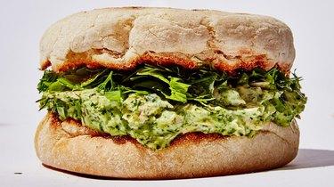 Bon Appétit's Green Goddess Tuna Salad Sandwich