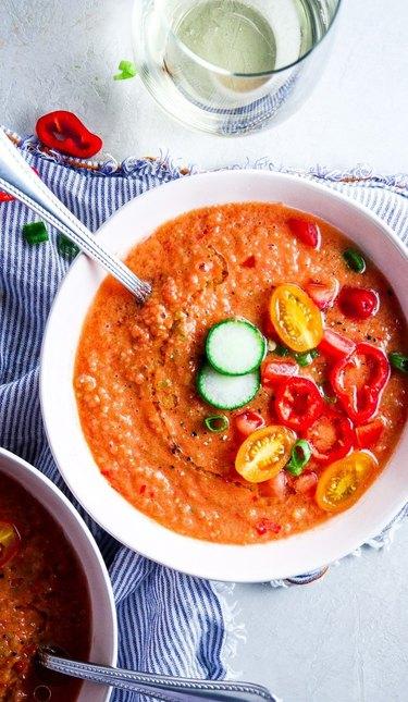 Tipps in the Kitchen Summer Gazpacho