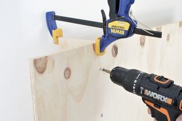 Plywood Headboard