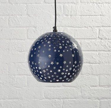 starry night pendant light