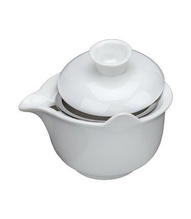 porcelain gaiwan tea infuser