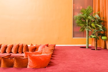 red room ideas carpeting