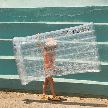 sunny life glitter pool float
