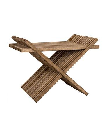 folding accent stool