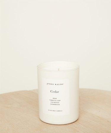 Jenni Kayne Cedar Glass Candle