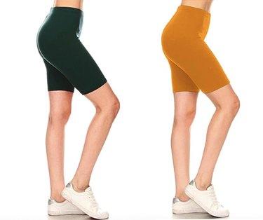 Leggings Depot Women's Fashion Biker Workout Shorts, $12.99-$13.99