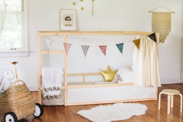IKEA Kura bed hack toddlers