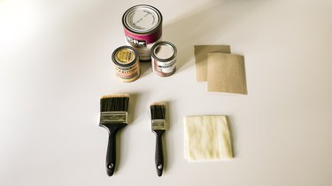 materials for faux weathered wood finish