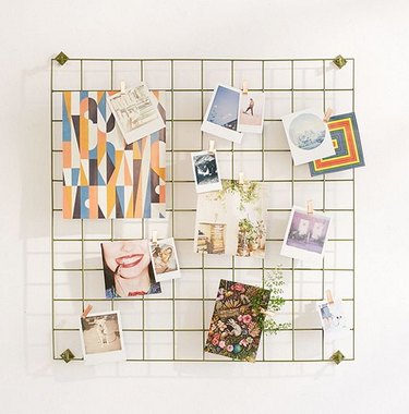 Hanging grid, Urban Outfitters