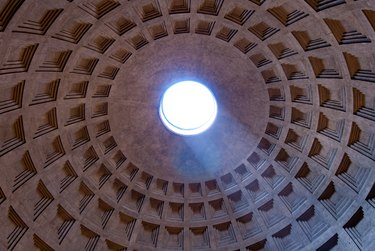 The dome of the Pantheon from inside.