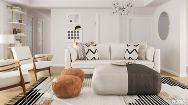 Modsy living room