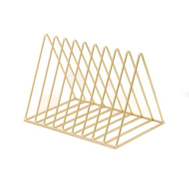 NZND Triangle Desktop Storage Rack, $38.90