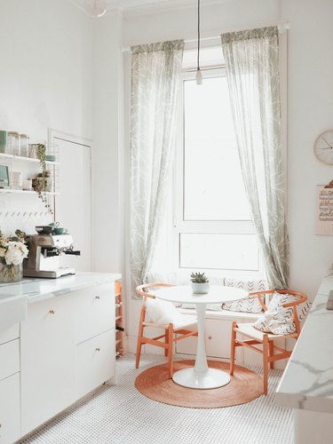 small dining room in kitchen