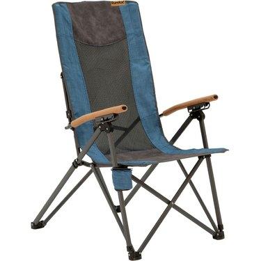 Eureka Highback Recliner Chair in blue