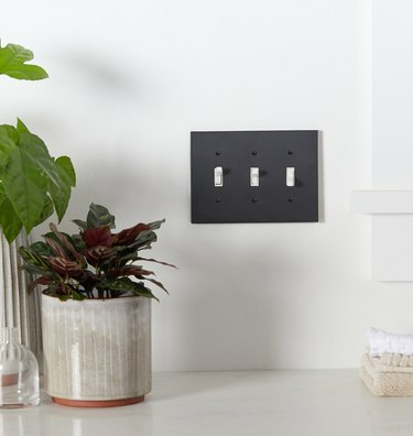 black light switch plate