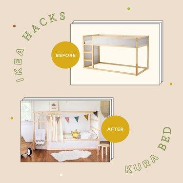 5 Genius Ways to Hack an IKEA Kura Bed