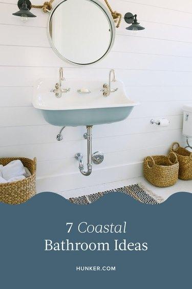 Coastal Bathroom Ideas and Inspiration