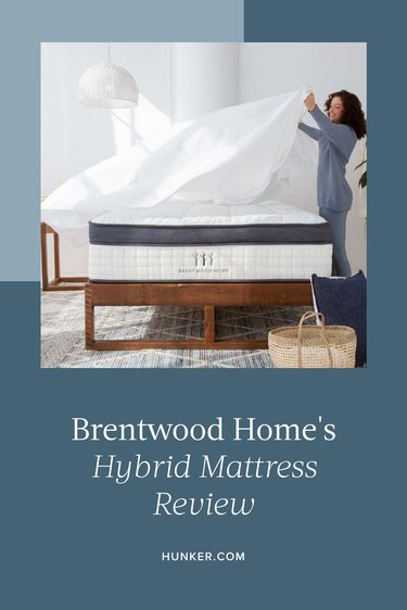 Brentwood Home's Hybrid Mattress Review
