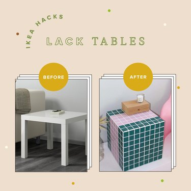14 Fun Ways to Hack IKEA's Lack Tables