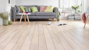 Living area floor.