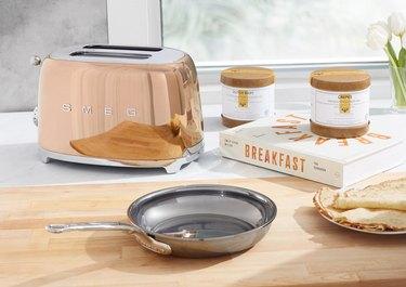 Smeg gold toaster