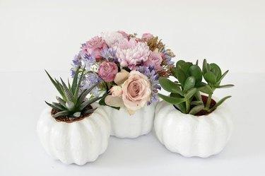 craft pumpkins centerpiece
