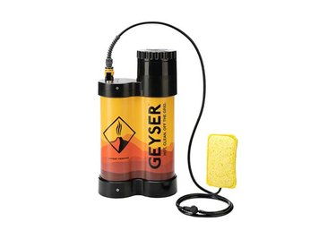 Geyser Systems Portable Shower with Heater