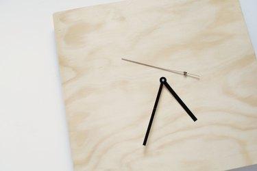 DIY plywood clock
